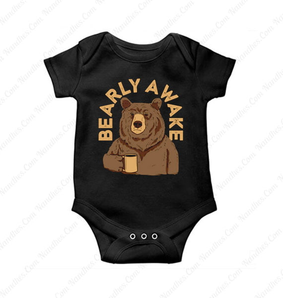 Bearly Awake Baby Onesie