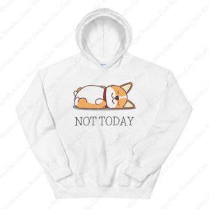 Cat Not Today Hoodie