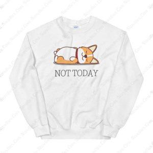 Cat Not Today Sweatshirt