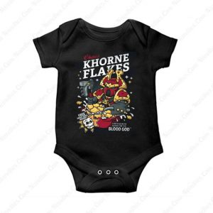 Chaos Khorne Flakes Baby Onesie