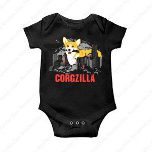 Corgzilla Baby Onesie