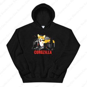 Corgzilla Hoodie