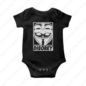 Disobey Anonymous Baby Onesie