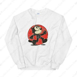 Felix The Cat Keep Walking Sweatshirt