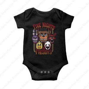 Five Nights At Freddy's Baby Onesie