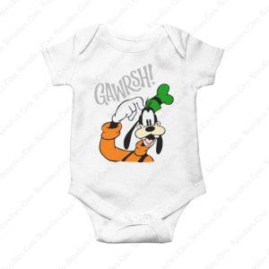 Goofy Gawrsh Novelty Baby Onesie