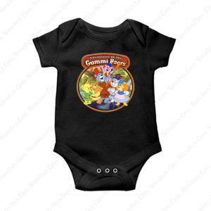 Gummi Bears Vintage Image Baby Onesie