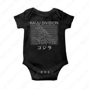 Hokusai Gojira And Kaiju Division Baby Oneise