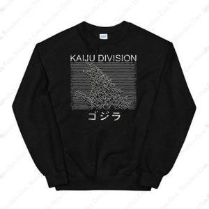 Hokusai Gojira And Kaiju Division Sweatshirt