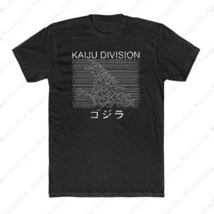 Hokusai Gojira And Kaiju Division T Shirt