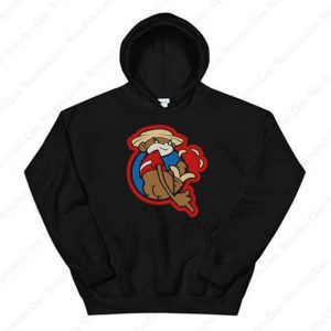 Johnny Chimpo The Naughty Monkey Hoodie
