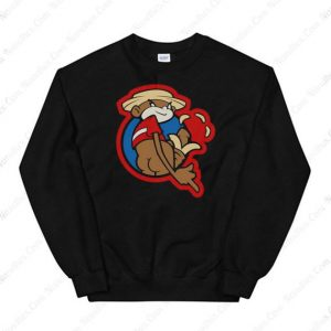 Johnny Chimpo The Naughty Monkey Sweatshirt