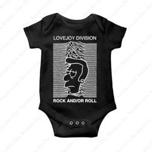 Lovejoy Division Baby Onesie