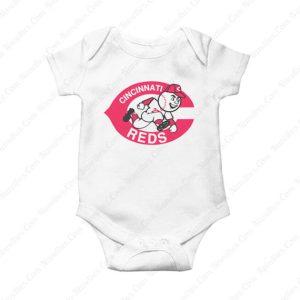 Mr Redlegs Cincinnati Reds Baby Onesie