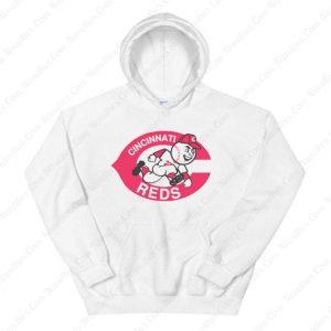 Mr Redlegs Cincinnati Reds Hoodie