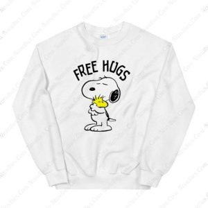Peanuts Snoopy Free Hugs Sweatshirt
