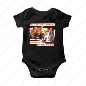 Wrong Side Of the River Baby Onesie